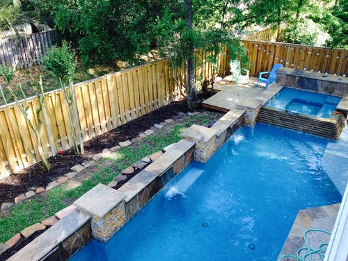 Help i need help landscaping around pool for Garden city pool jobs
