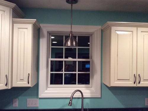 ... Decorating Kitchen Window Trim : Need Help With Window Treatment Above  Kitchen Sink ...
