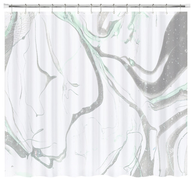 Pale Marble Shower Curtain