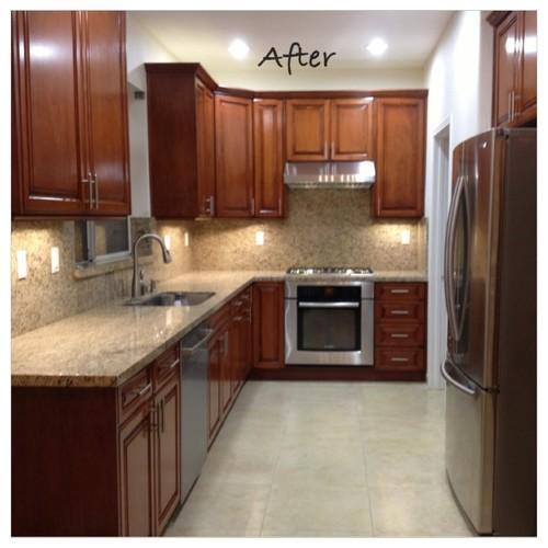 start to finish kitchen remodel