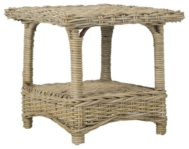 Safavieh Bowen Natural Uned Accent Tables.