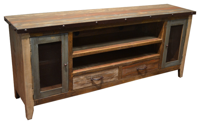 crafters and weavers rustic media center amp reviews houzz