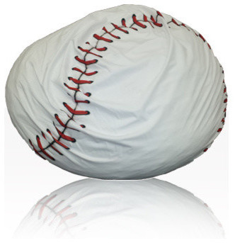 Charmant Plush Baseball Bean Bag