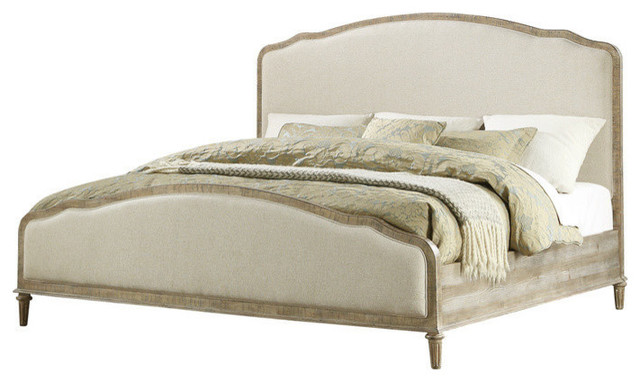 Emerald Home Interlude Upholstered Bed Set, King, Upholstered