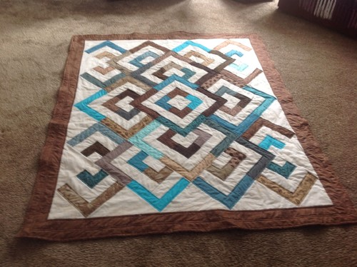 Just finished : diamond double quilt pattern - Adamdwight.com
