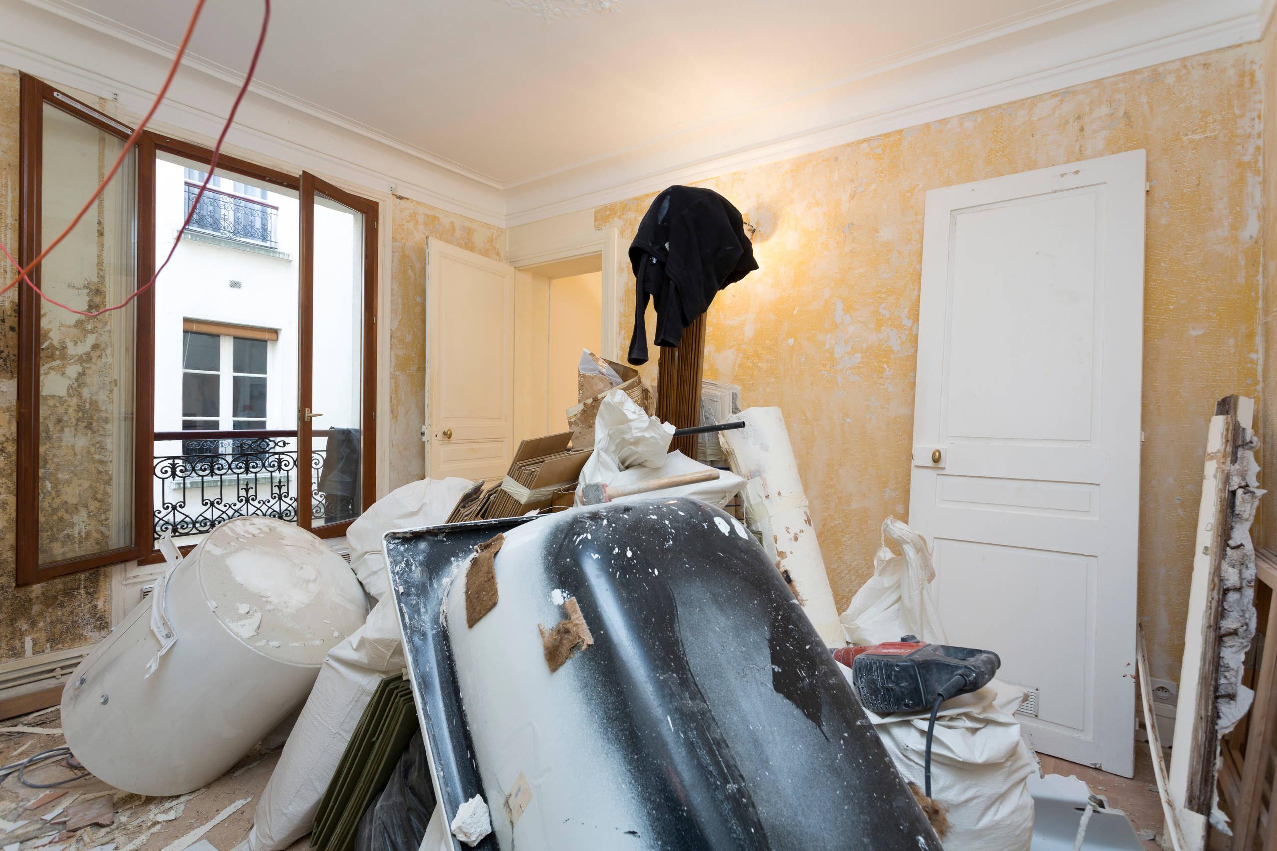 Renovation d'un 40m2 parisien