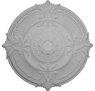 53 1 2 Quot Od X 3 1 2 Quot P Attica Acanthus Leaf Ceiling Medallion