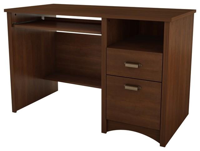 South Shore - South Shore Gascony Collection Desk Ebony & Reviews   Houzz