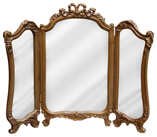victorian style mirrors for bathrooms tri fold vanity mirror bathroom mirrors by 24489