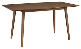 Mid-Century Dining Table in MDF and Solid Wood Legs | Houzz (App)
