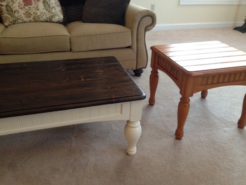 DecisionPaint ColorRefinish for end tables in family room