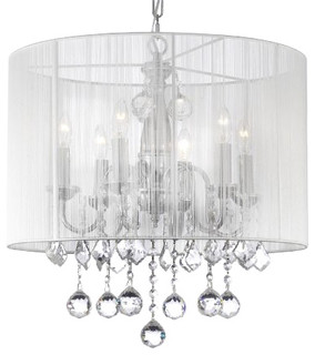 Awesome The Gallery   Crystal Chandelier, White   Chandeliers
