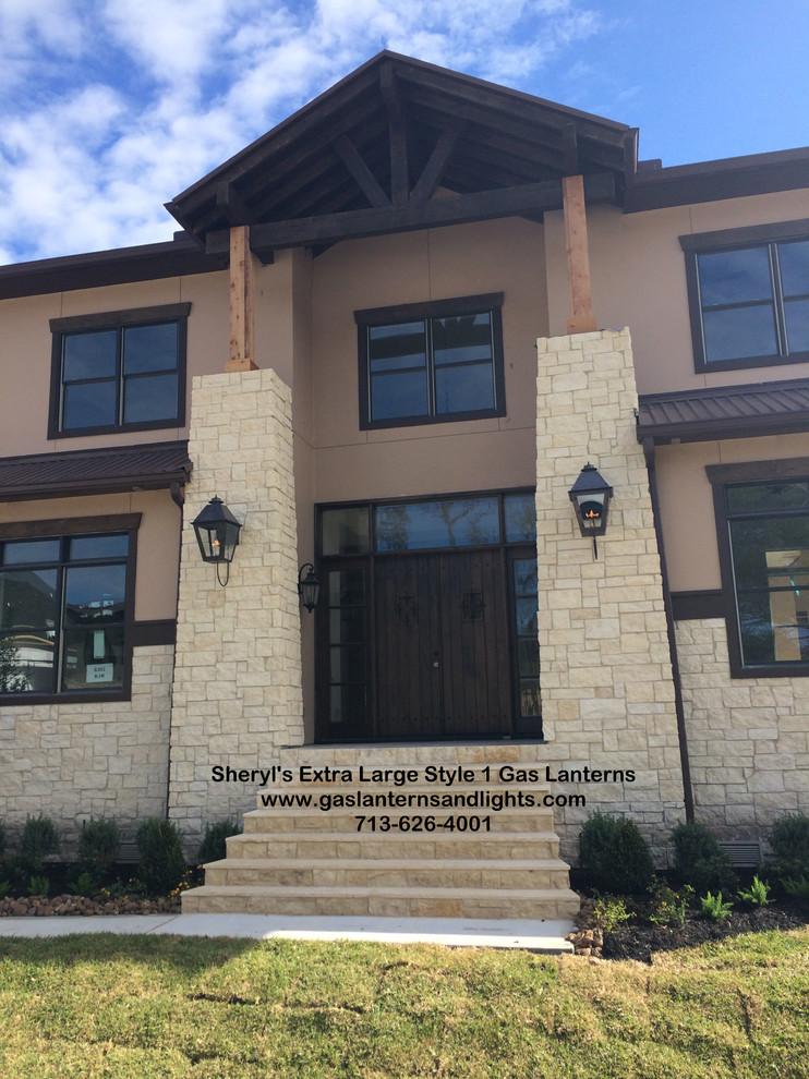Sheryl's Extra Large Style 1 Gas Lanterns
