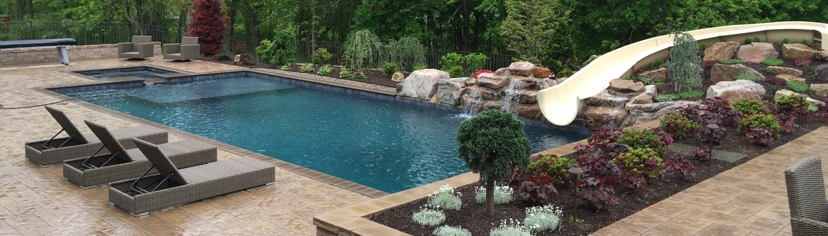 Pools By Design Reviews fantastic backyard pool ideas gives peaceful atmosphere great backyard pool ideas with green grass also Signature Quality Pools Llc 12 Reviews 10 Projects Telford Pa