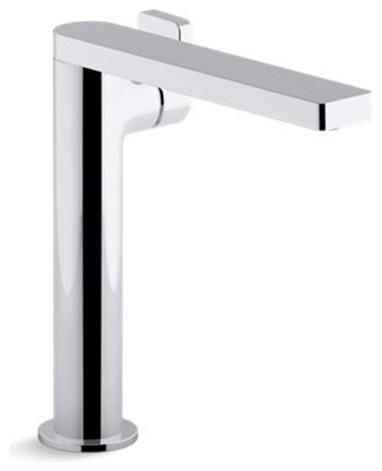 kohler composed tall single-handle bathroom sink faucet