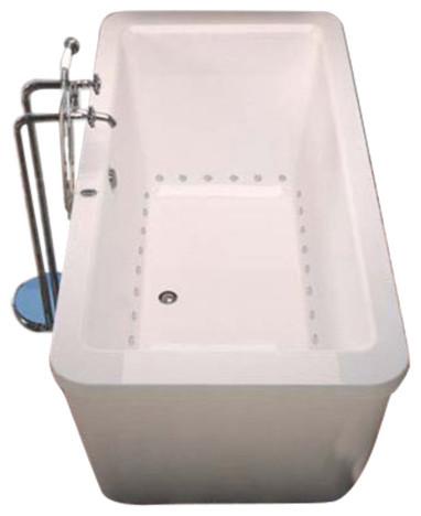 "Aquarius 31""x67"" Rectangular Freestanding Bathtub, Soaker"