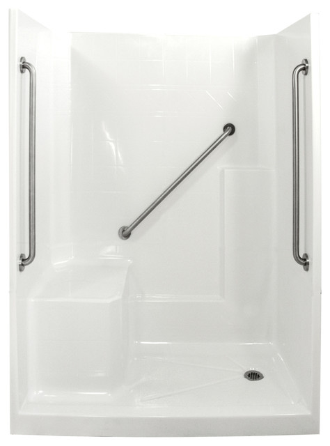 Ella Standard Plus 36 Low Threshold Shower 60 Quot W X 33 Quot D X