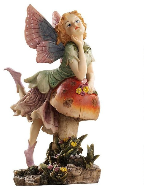 Design Toscano Classy Pixie Garden Fairy Sculpture Garden