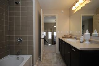 Model Bathroom tamarack homes charleston model home