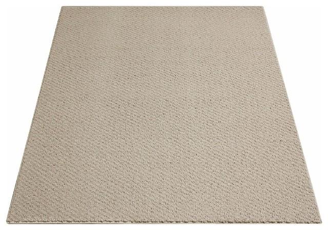 3'x5' Weavers Guild Oyster Felt, Carpet Rug, Textured Loop