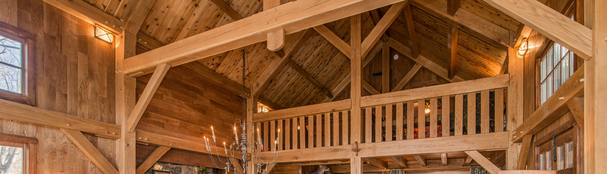 Cypress Timber Frame Pavilion in Tennessee