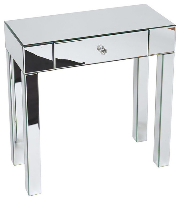 Foyer Side Table : Ave six reflections foyer table contemporary side