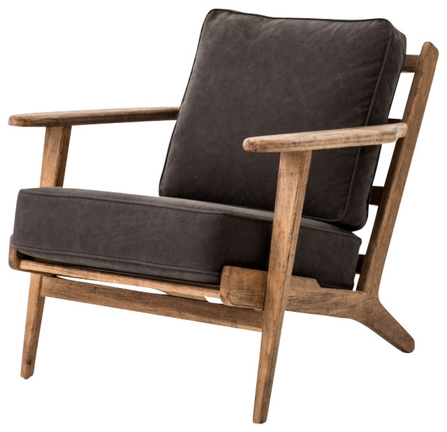 klee wood accent chair midcentury armchairs and accent chairs