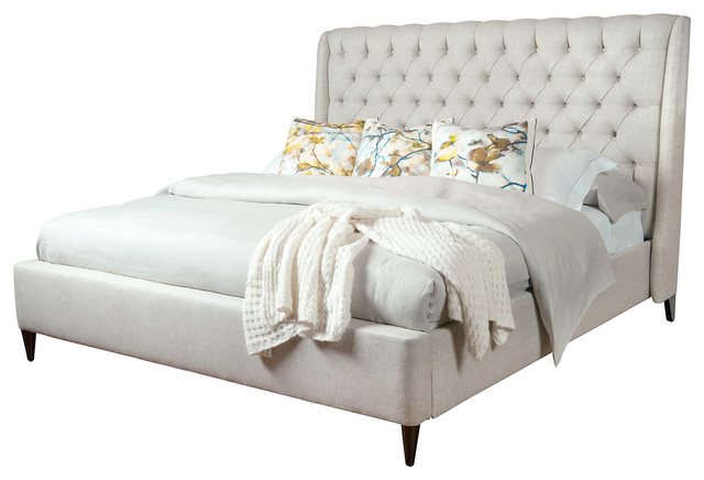 Cute Transitional Beds by Kathy Kuo Home