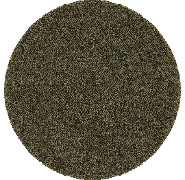 Oriental Weavers Loft Collection 520F4 Green/Brown Tweed