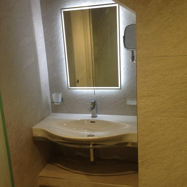 Wet Room In En Suite With Heated Shower Seat Modern