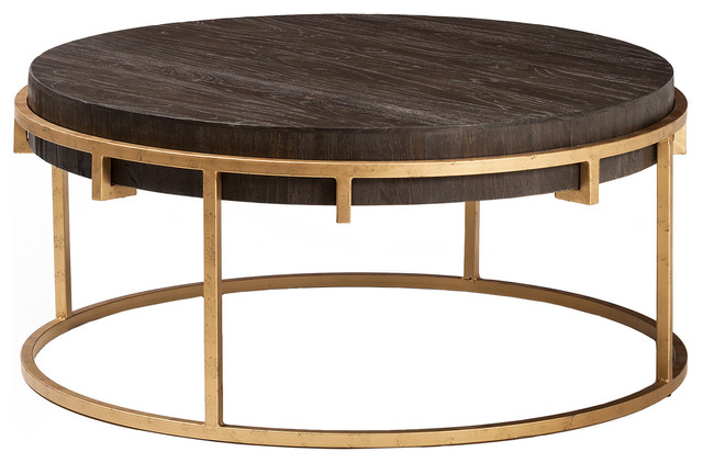 Avalon reclaimed elm coffee table contemporary coffee - Woodbridge home designs avalon coffee table ...