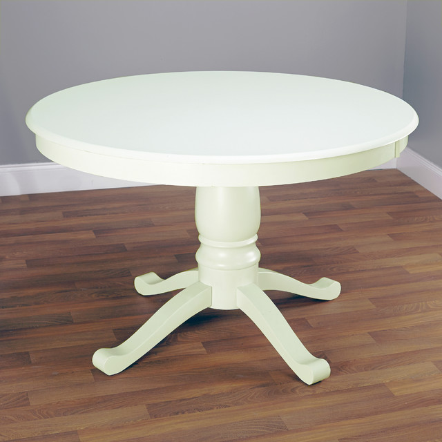 round antique white pedestal dining table contemporary dining tables