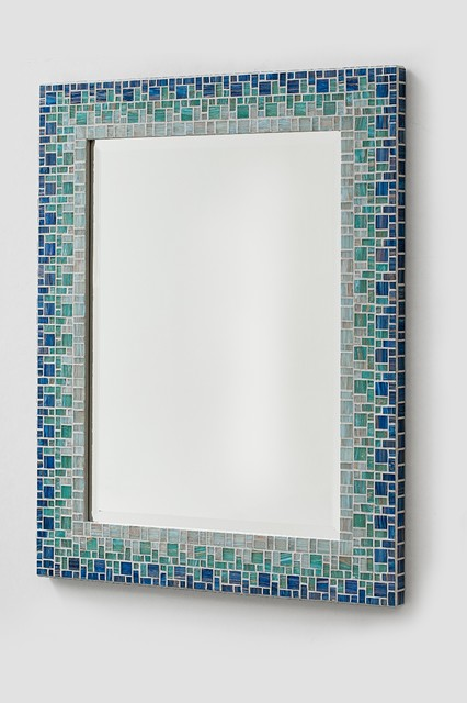 beach style bathroom mirrors classic collection mosaic mirrors style bathroom 17273