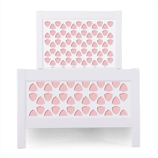 P&x27;kolino Pezzo Nesto Twin Bed, Pink.