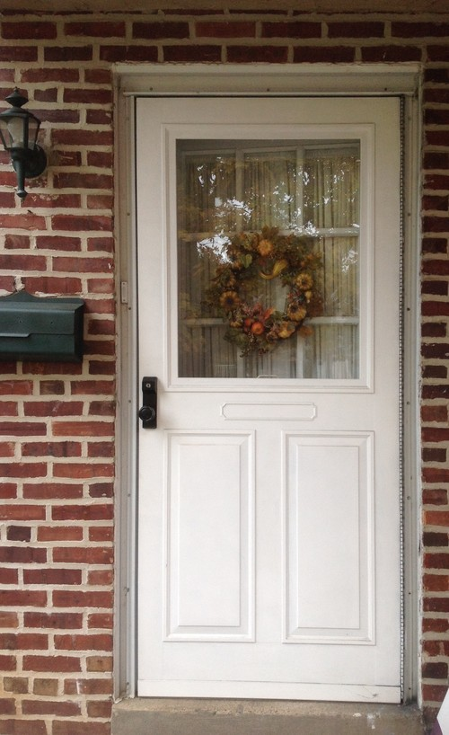 Forever Doors Amp Emco Storm Door Keyed 3 Post Storm Door