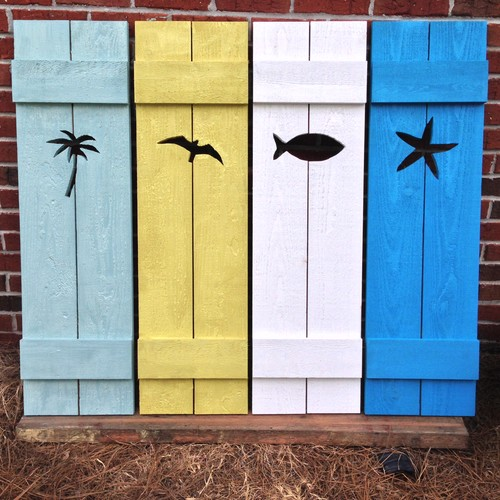 We are now offering Beach House style cedar shutters in a variety of ...
