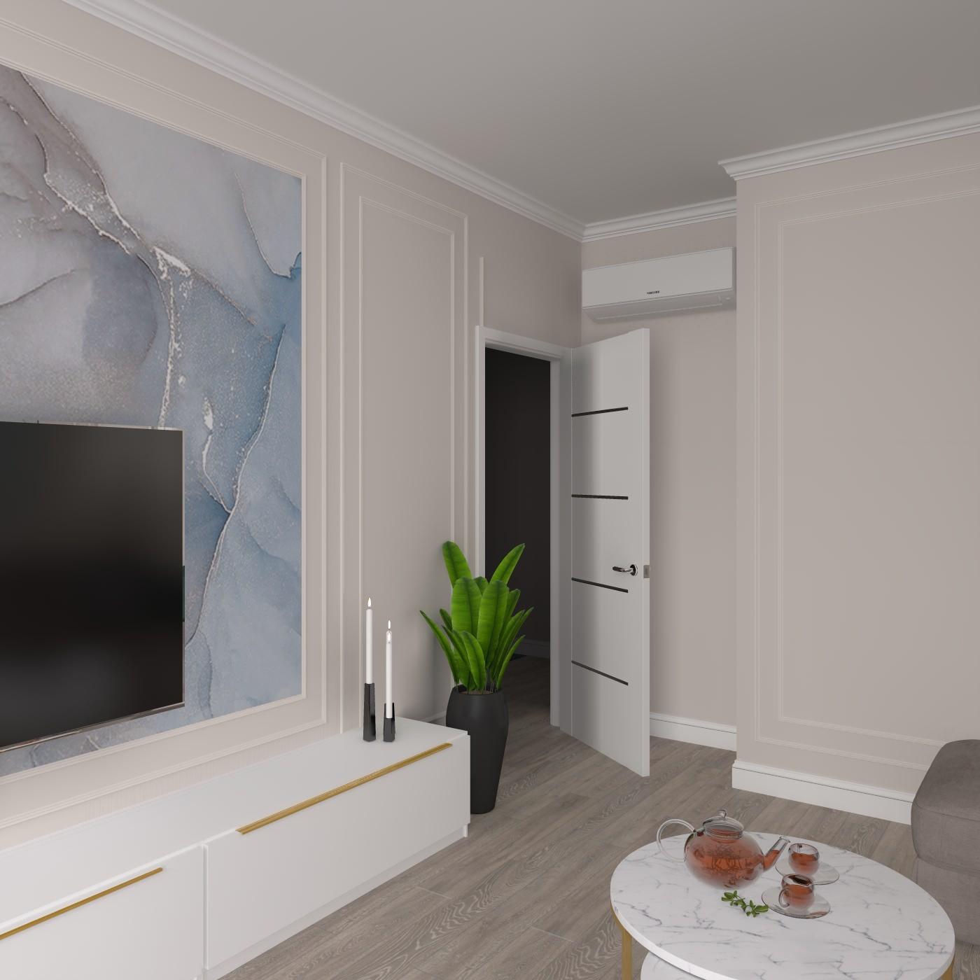Проект квартиры ЖК «Парк легенд»