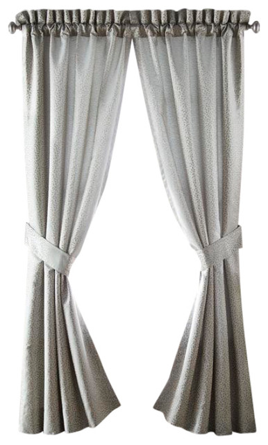 Croscill Dianella Poletop Drapery 82x84 Traditional Curtains By Croscill