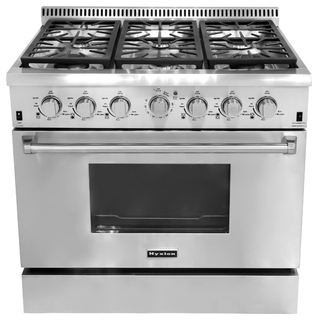 freestanding premium gas rangeshyxion stainless steel, Kitchen