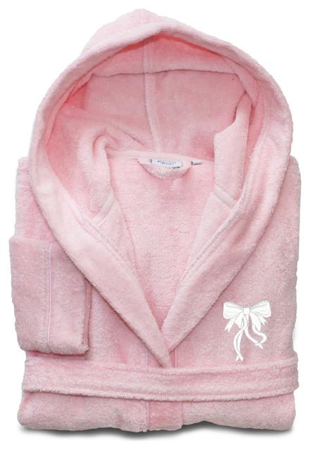 Linum Kids 100% Turkish Cotton Hooded Terry Bathrobe ca2f8844f