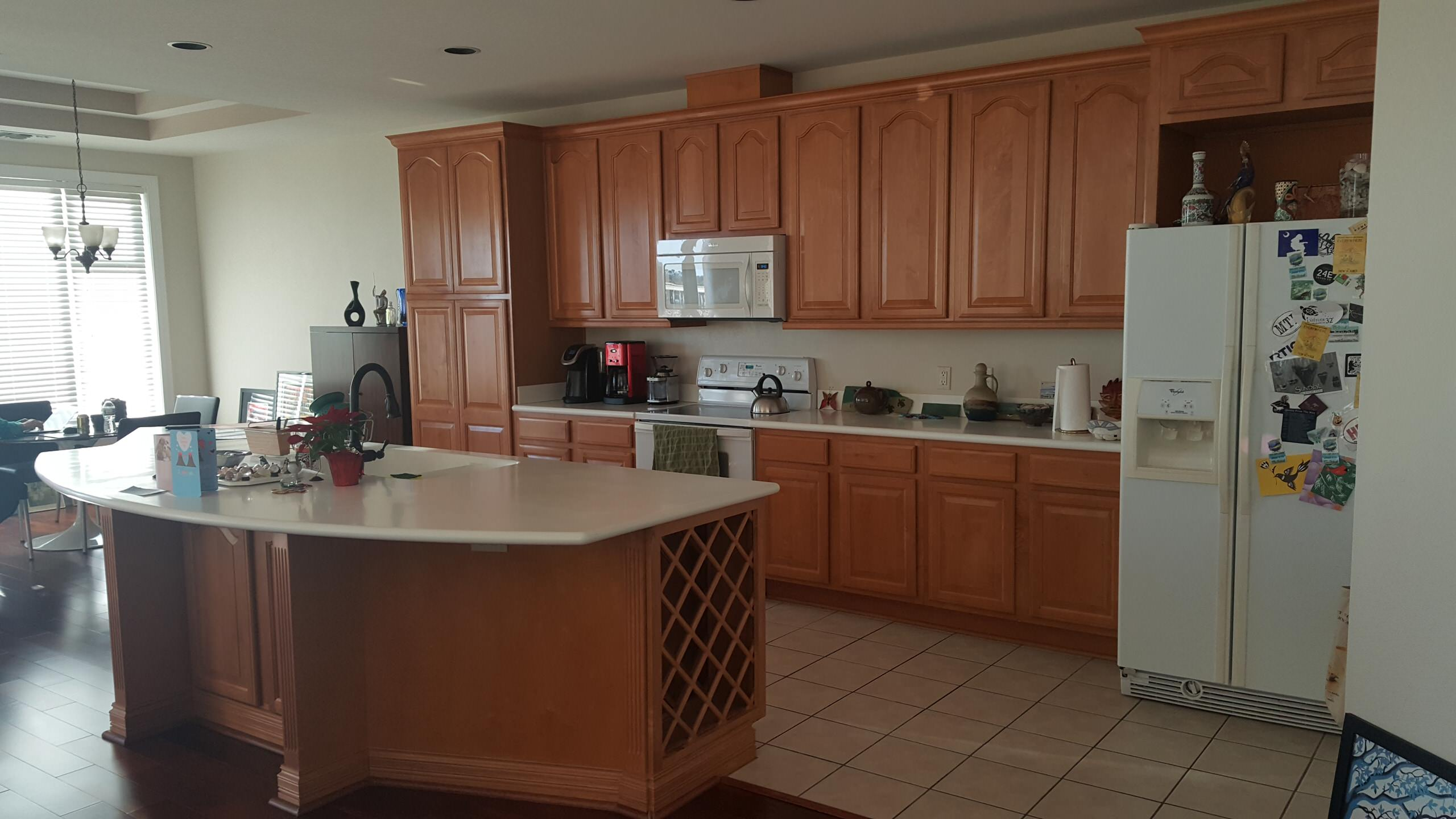 Original kitchen built in the early 2000's