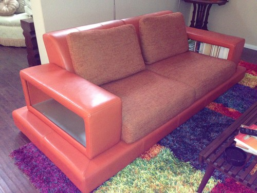My Big Orange Sofa!