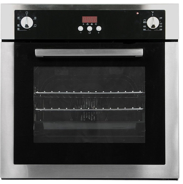 Modern Kitchen Oven: Electric Wall Oven, 24""