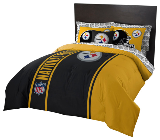 The Northwest Company - Steelers Comforter Bed In A Bag Set & Reviews
