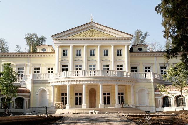villa russe classique chic paris par beatrice blanchard. Black Bedroom Furniture Sets. Home Design Ideas