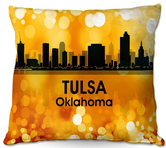 Home Decor Tulsa: DiaNoche Throw Pillows By Angelina Vick City Lll Tulsa