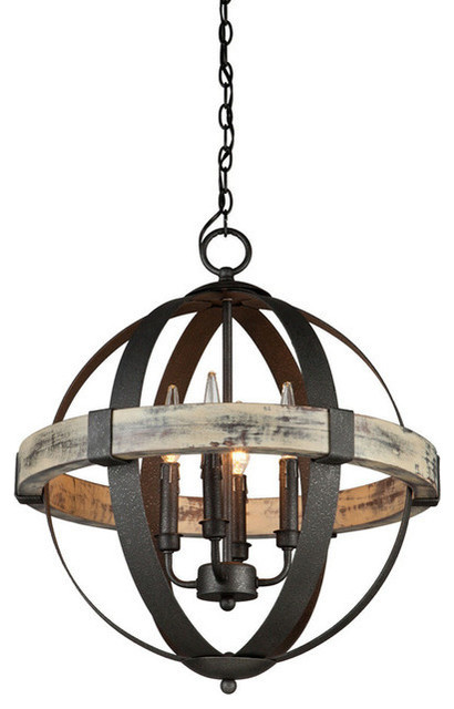 New Rustic Chandeliers by whoselamp