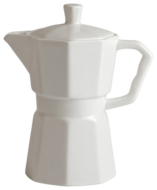 Porcelain Coffee Percolater.
