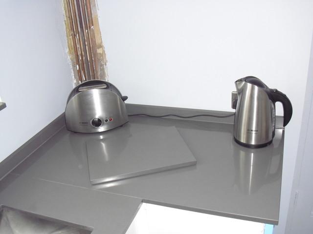 Cemento Spa Quartz Worktops Silestone Contemporary