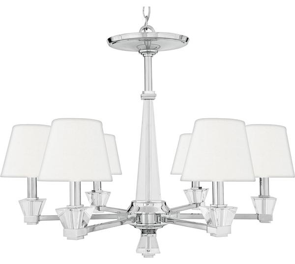 Quoizel Lighting DX5006C 6 Light Chandelier Deluxe Collection – Quoizel Chandelier